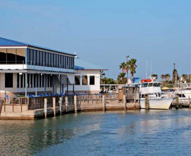 sea ranch restaurant and bar, pet friendly south padre island, exterior view